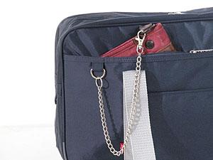 スクールバッグ リーバイス 紺/グレー
