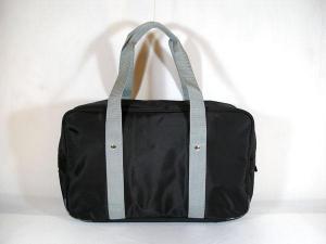 スクールバッグ BMB 黒/グレー手