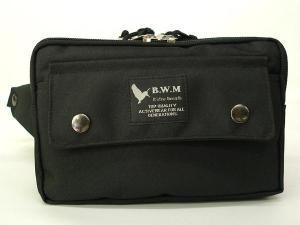 ウエストポーチ BWM 黒