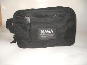ウエストポーチ NASA 黒