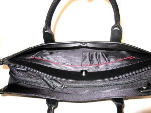 ビジネスバッグ SAXON 黒 41cm