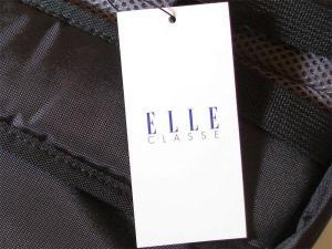 リュックサック エル (ELLE) 50c 黒/ピンク