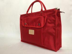 レッスンバッグ 赤 日本製