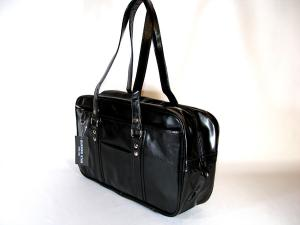 スクールバッグ 無地 黒