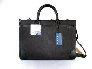 ビジネスバッグ SAXON 黒 40cm