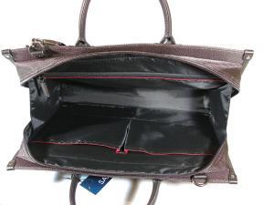 ビジネスバッグ SAXON カーキ 40cm
